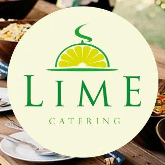logo catered buffet