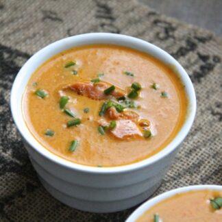 salmon tomato soup